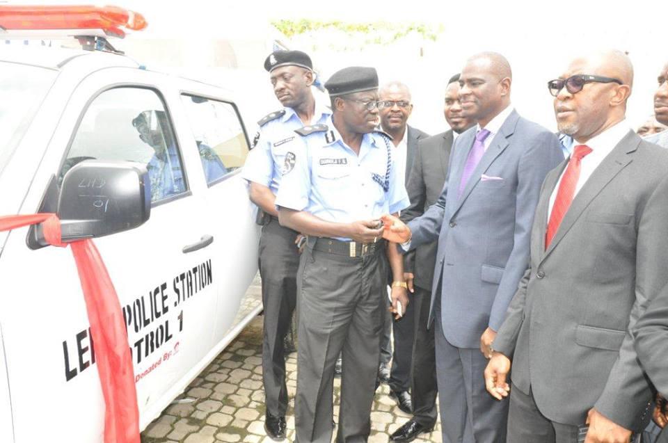 Airtel Nigeria police cars