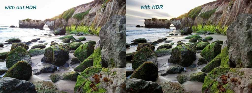 HDR goggle glass