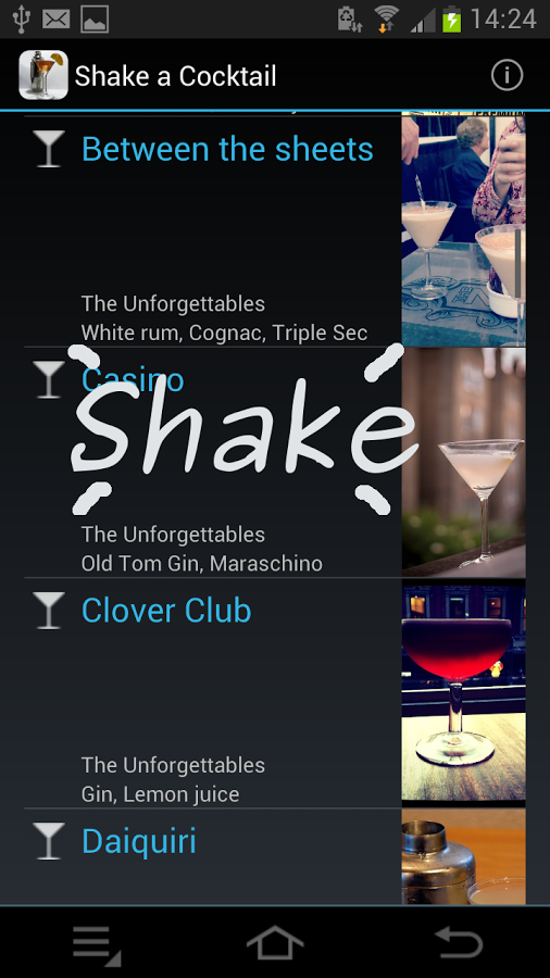 shake a cocktail