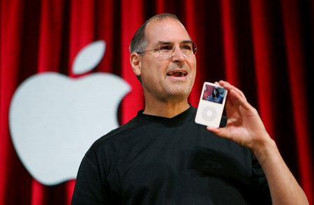 Steve introduces the ipod