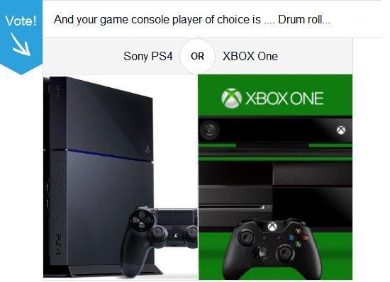 Tech Poll : PS4 Vs XBOX One
