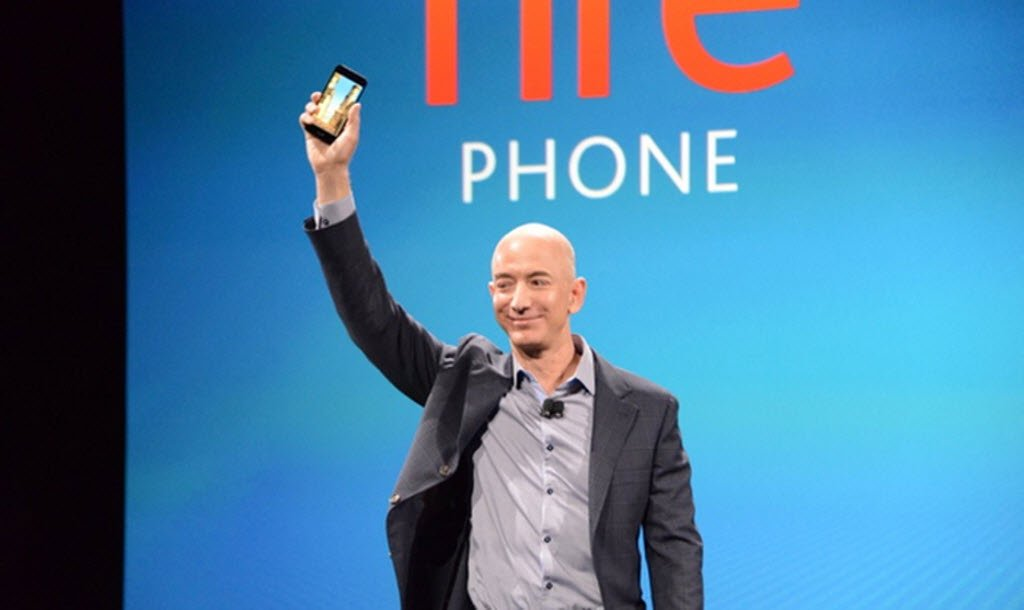 Amazon Fire Phone launch