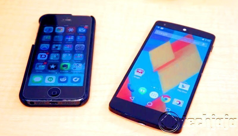 iOS 8 Vs Android L