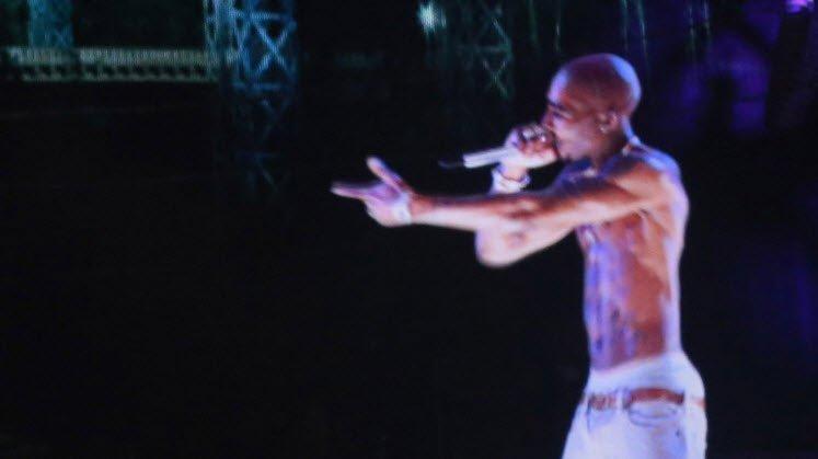 Tupac Shakur hologram