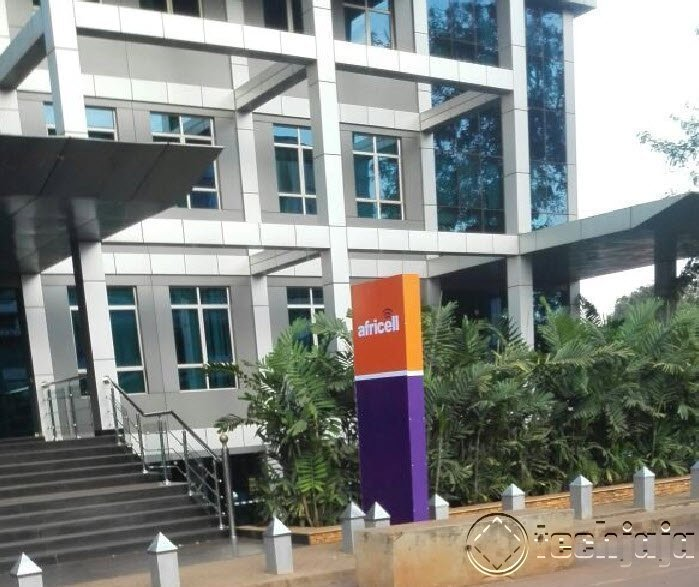 Africell Uganda from, Orange