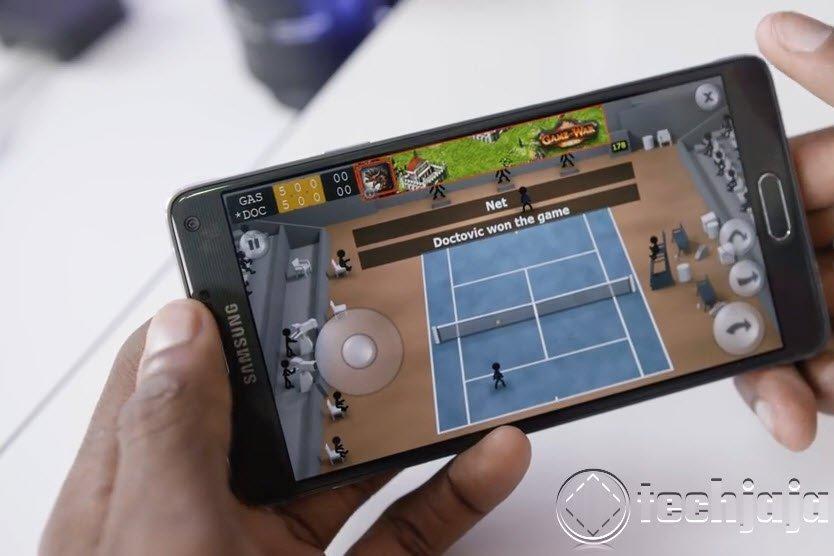 Galaxy Note 4 Gaming
