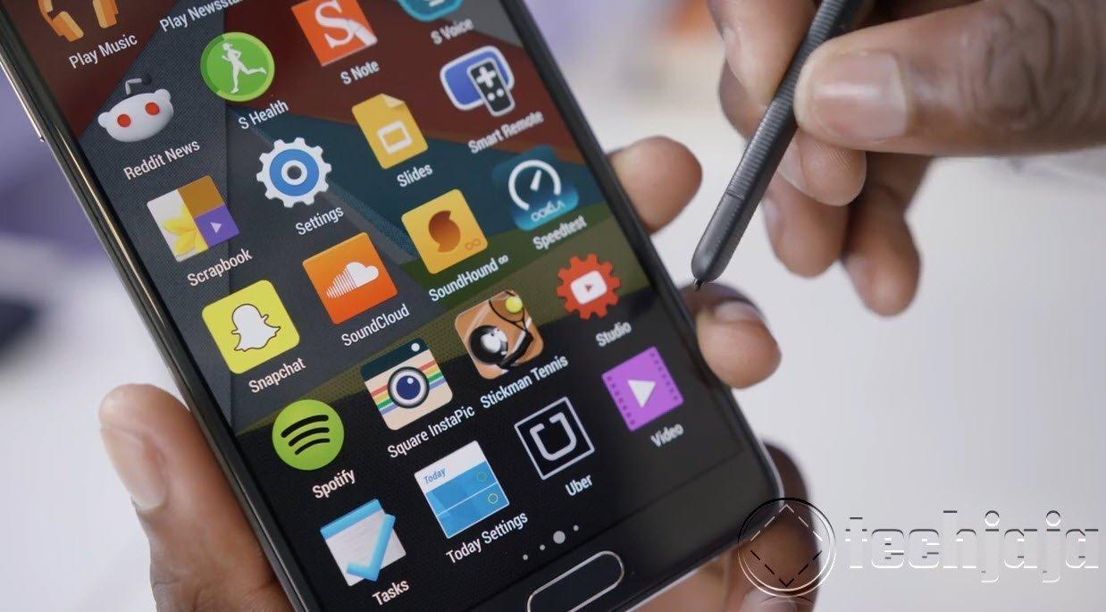 Galaxy Note 4 techjaja