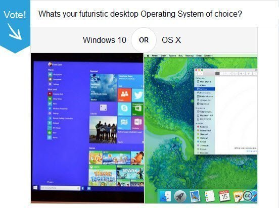 Windows 10 Vs OS X