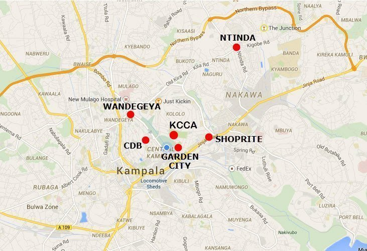 Data speeds bendchmack kampala locations