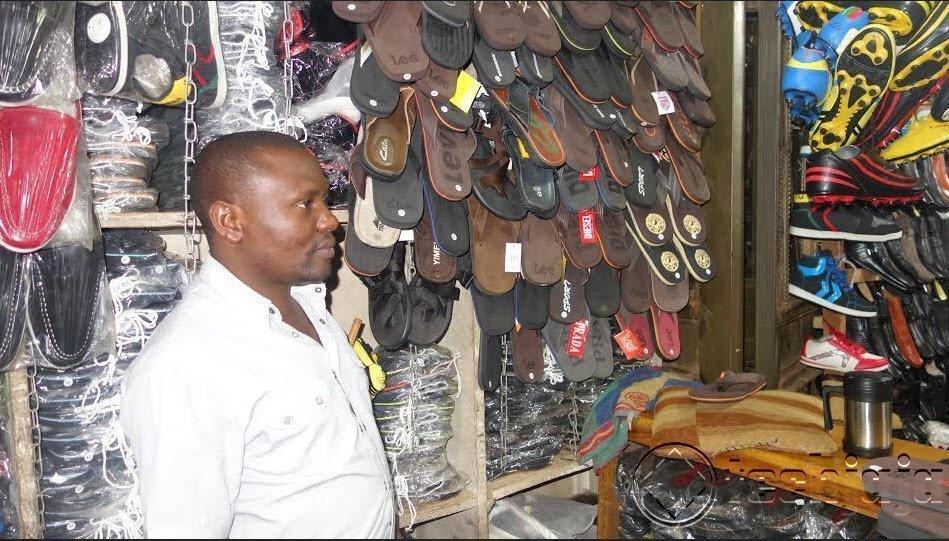 Ssalango Kiwalabye Shoe Seller in Mukwano Arcade Using Kaymu