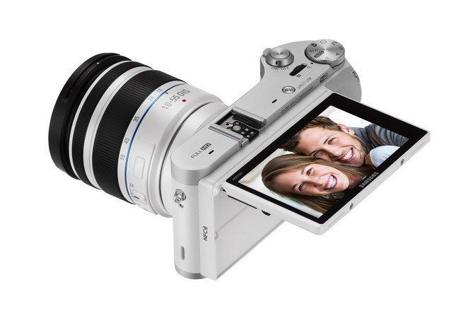 Tizen Samsung NX 300M smart camera