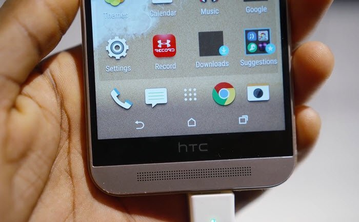 HTC One M9_speakers