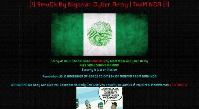 INEC website hacked
