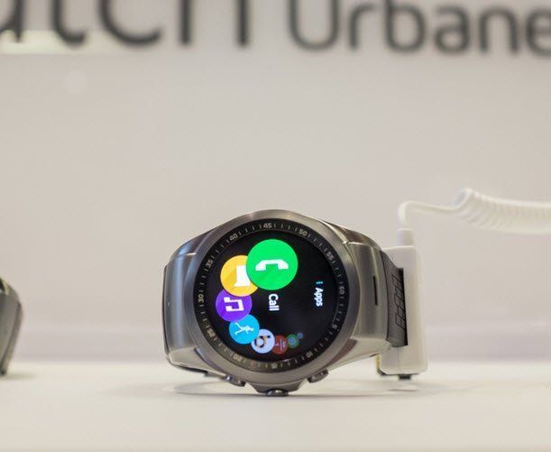 LG Unveils the world's first 4G-LTE smartwatch