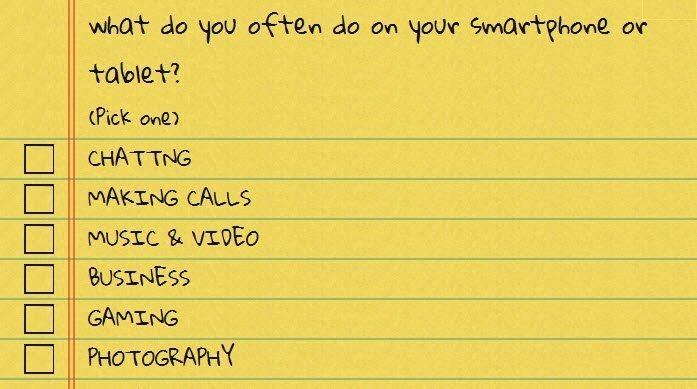What you do on your smartphone