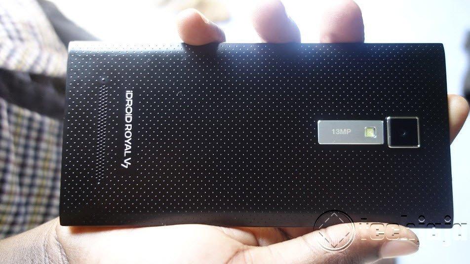 iDroid V7 review camera