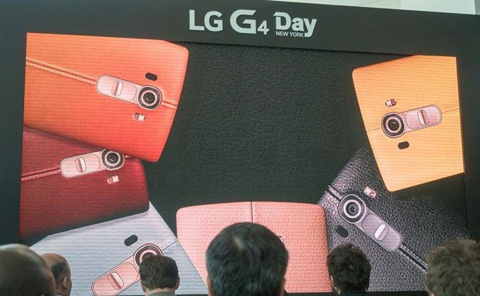 LG G4 launch colors