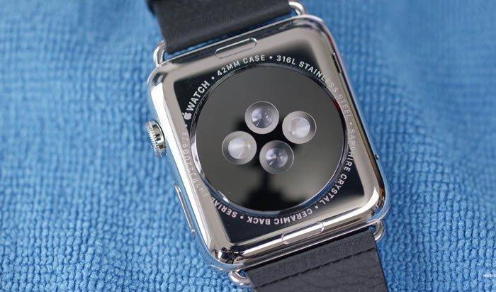 Apple Watch hardware sensors