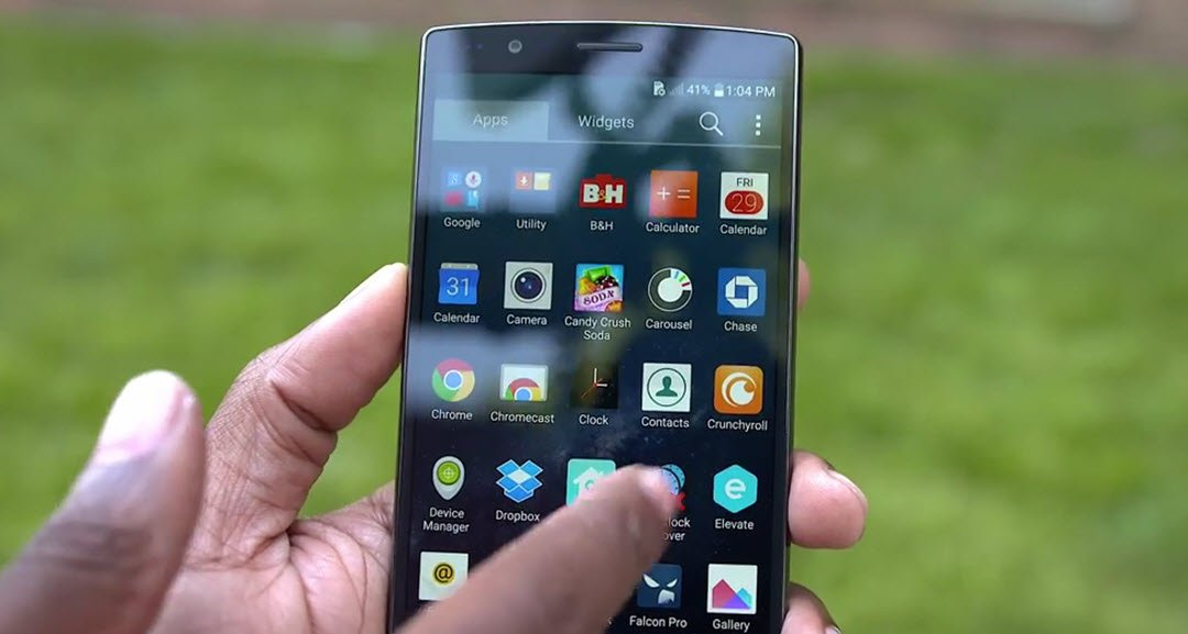 LG G4 review software
