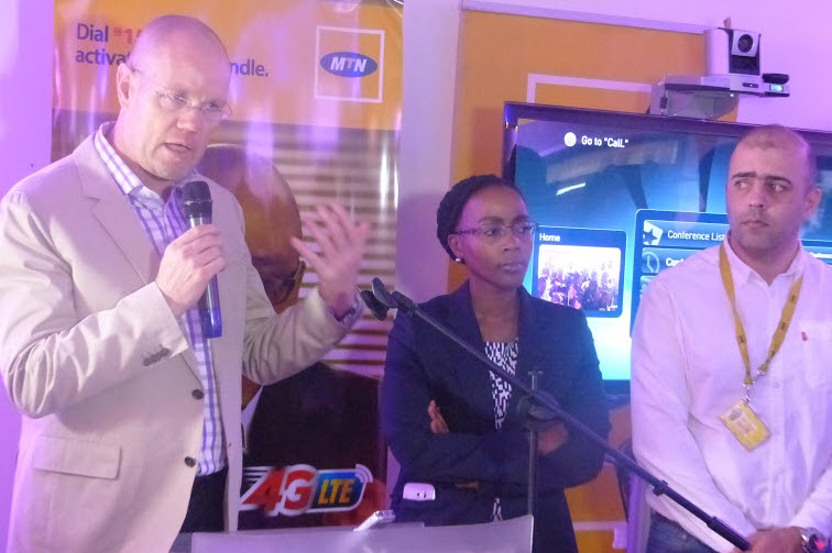 MTN Ugandan 4G launch