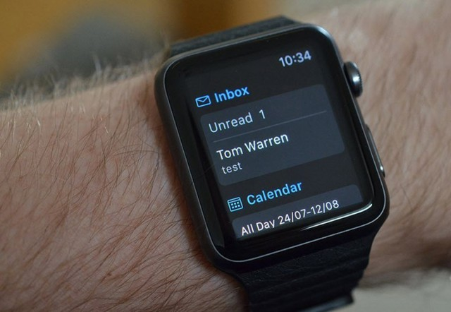 Outlook on Apple Watch