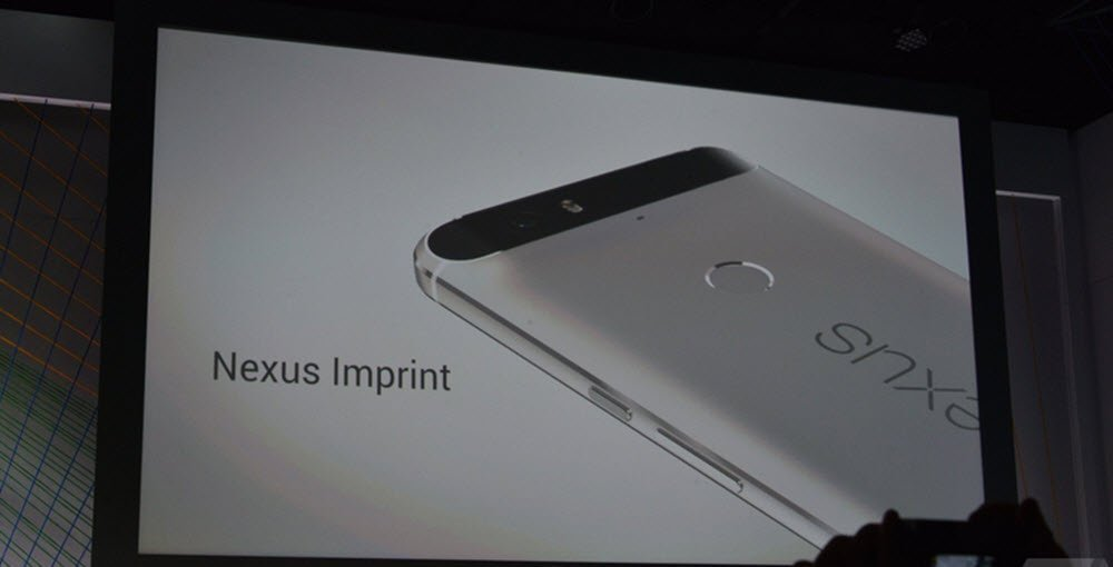 Nexus 6P and Nexus 5x imprint