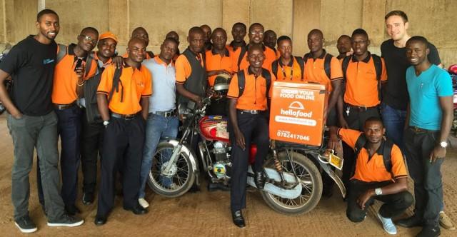 hello food uganda delivery team