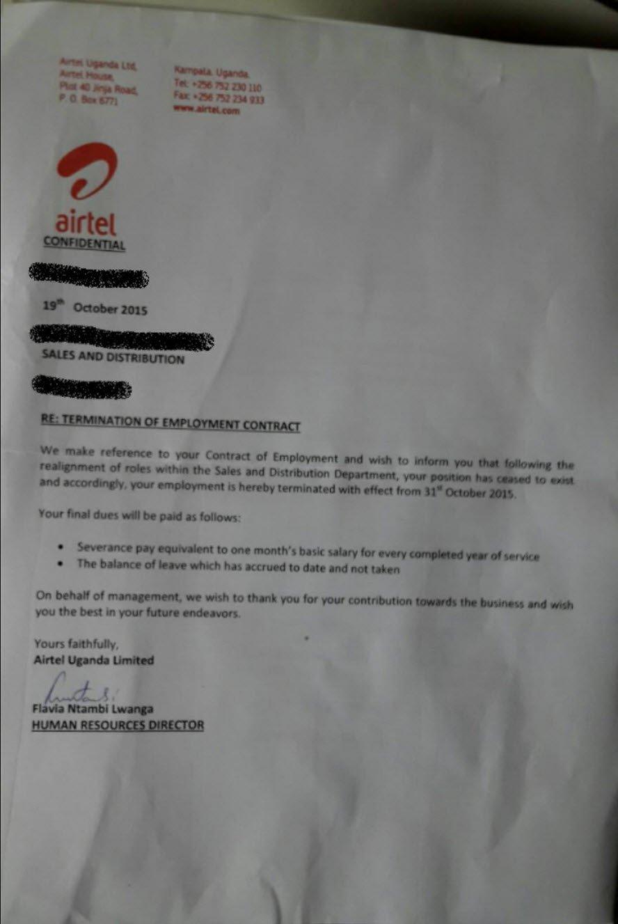 Airtel Uganda fires 67 employees