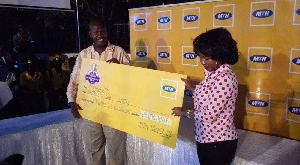 MTN Uganda sponsors the Independence Cup