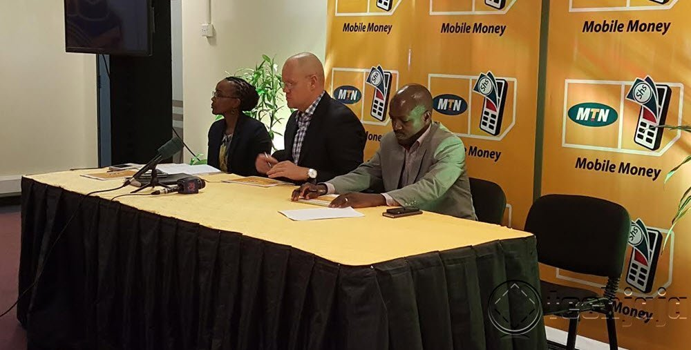 mobile money event at MTN Towers
