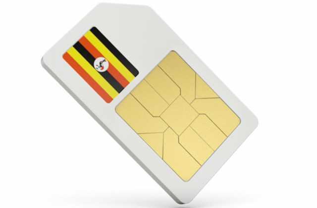SIM in Uganda white