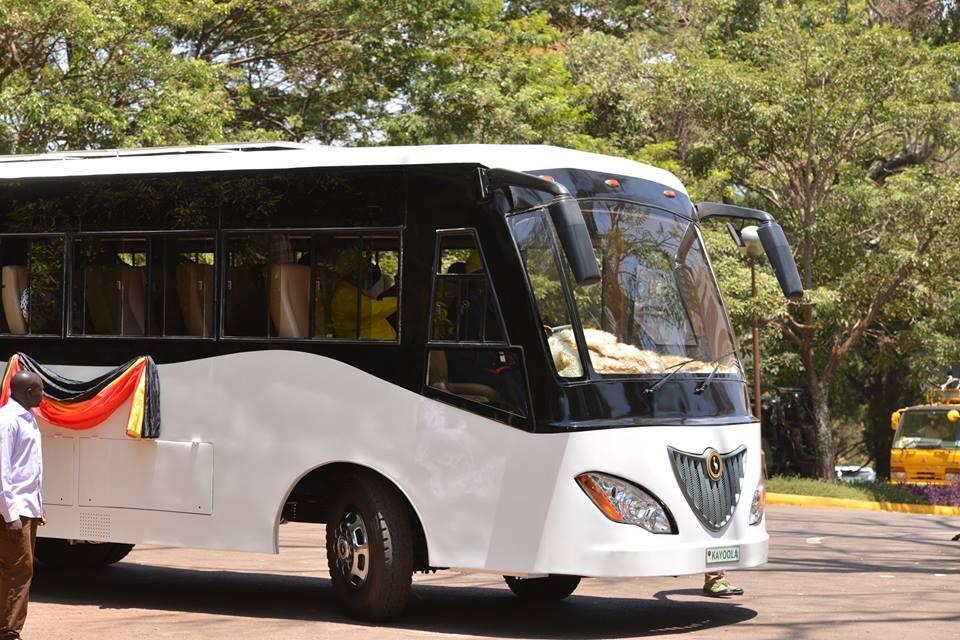 Kayoola Bus launched
