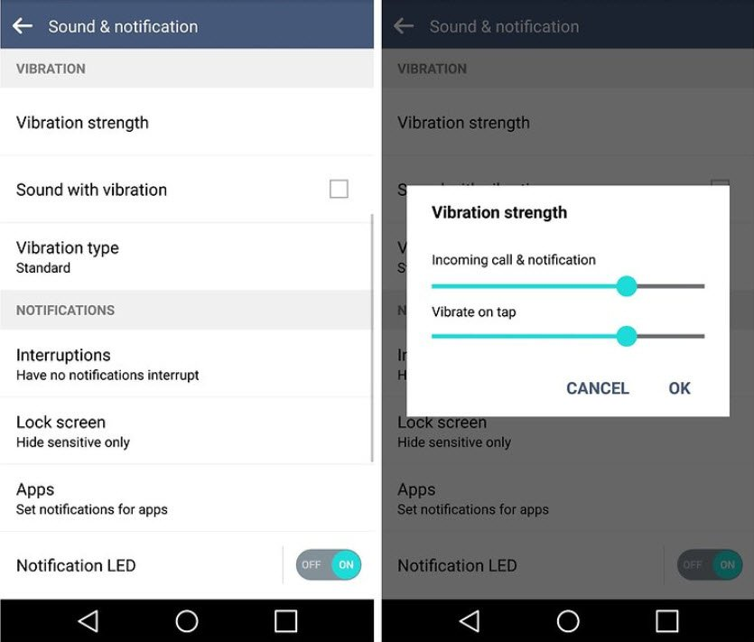 turn off vibrate - save battery app