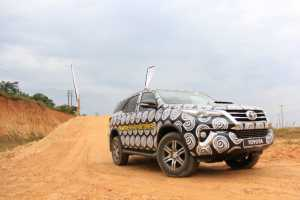 The Toyota Fortuner 2016