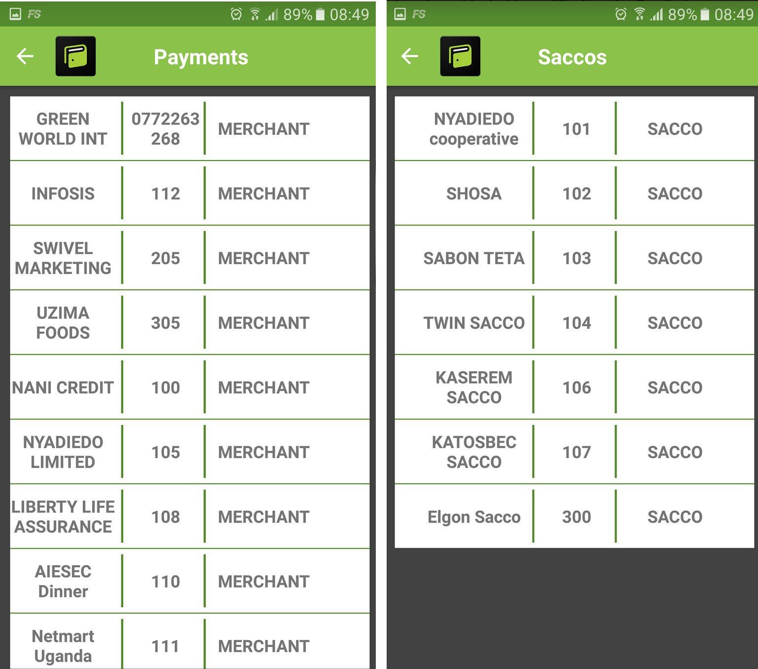 POKETI Payments & SACCOs