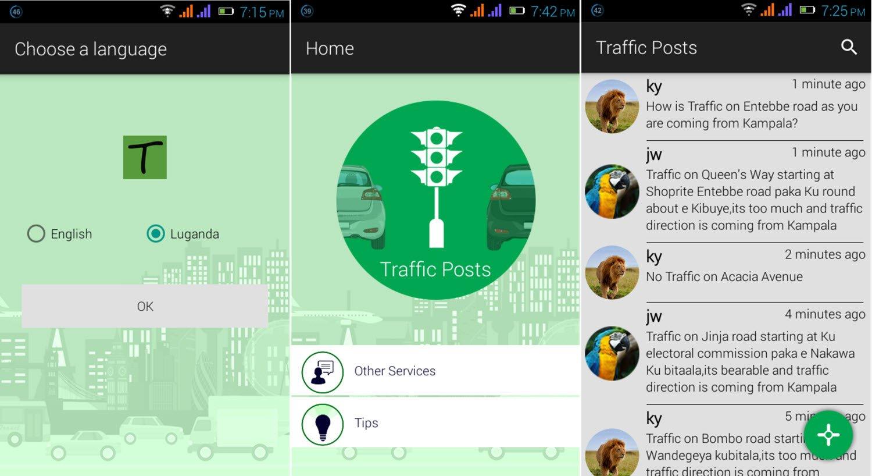 Traffica App Kampala
